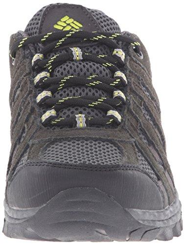 Columbia Redmond Explore, Chaussures de Randonnée Basses Mixte Enfant Noir (051)