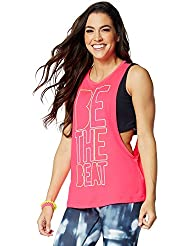 Zumba Fitness Be The Beat Cutout Débardeur Femme Gumball FR : XXL (Taille Fabricant : XXL)