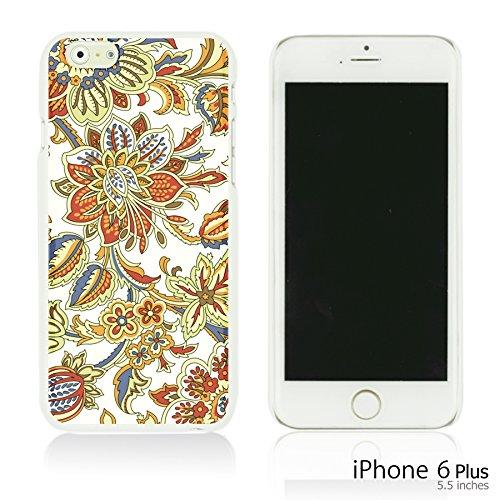 OBiDi - Flower Pattern Hardback Case / Housse pour Apple iPhone 6 Plus / 6S Plus (5.5)Smartphone - Pretty Paisley Pattern Classic Flower