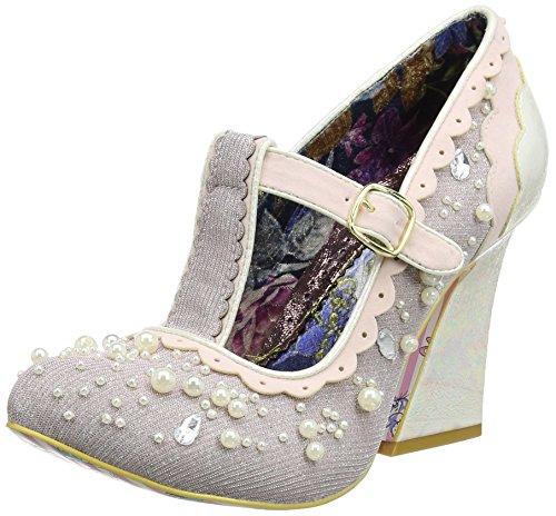 Irregular Choice Juicy Jewels, Zapatos de Tacón Mujer, Rosa (Pink), 39
