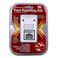RIDDEX PLUS ELECTRONIC PEST REPELLENT CONTROL AID KILLER INSECT