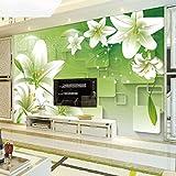 HQYXGS Modernes, minimalistisches tv Hintergrund Wand Tapeten, Wohnzimmer 5d Wallpaper Wandbilder 3D Stereo Wallpaper TV-Wand - A