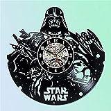 LYXEY Vinyl Uhr, Star Wars Geschenk