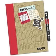 Smash Book Doodle Red Folio