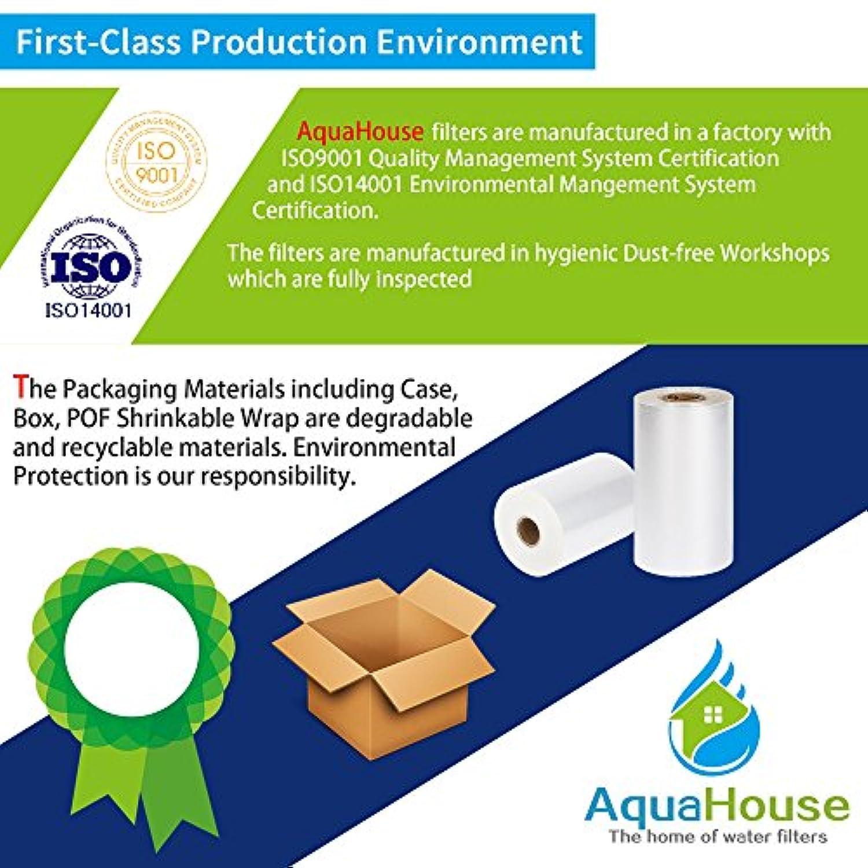 Firstline CDA 3x AquaHouse UIFH Compatible pour Haier 0060823485A Kemflo Filtre /à eau Aicro pour r/éfrig/érateurs Haier Frigistar