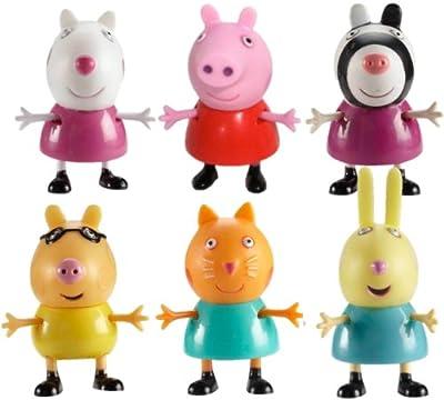 Peppa Pig 84205 - Figuras Y Sus Amigos (Bandai), surtido varios colores por Bandai