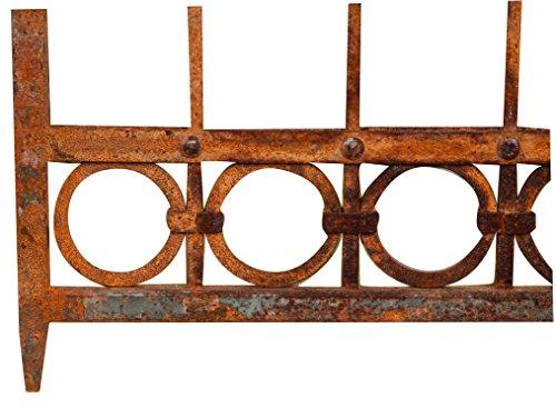 Tor aus Eisen voll 345x 270H cm (H. Centr.211cm)