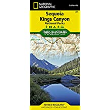 Sequoia / Kings Canyon: National Geographic Trails Illustrated Californien (Ti - National Parks)