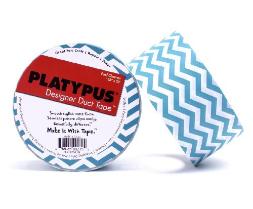 Platypus Designer Duct Tape, Pool Chevron by Platypus Designer Duct Tape