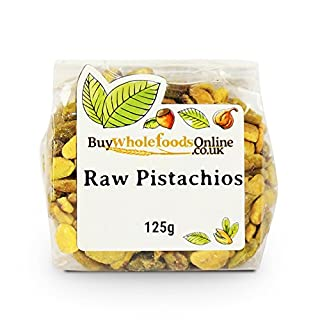 Buy Whole Foods Online Pistachio Nuts Raw 125 g