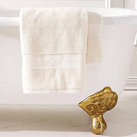 Handtuch Towel Ralph Lauren Home Badezimmer cm 142x 76Farbe Creme