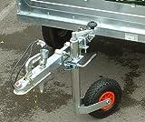 Maypole MP437 Jockey Wheel Pneumatic and Clamp, 48 mm