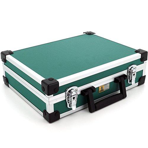 Allit Aluminium Koffer Basic L35 Grün Typ 424130 - 4