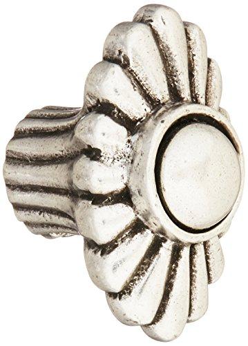 Vicenza Designs K1350-VP Capitale Knauf, Vintage-Stil, Zinn