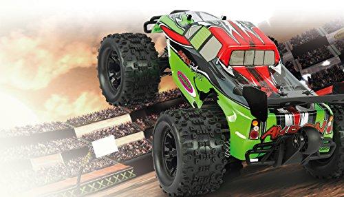 Akron Monstertruck 1:10 BL 4WD Lipo 2,4G- Allrad, Brushless, Akku, 60Kmh, Aluchassis, spritzwasserfest, Öldruckstoßdämpfer, Kugellager, Fahrwerk einstellbar, fahrfertig - 2