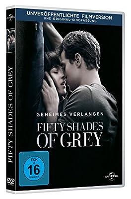 Fifty Shades of Grey - Geheimes Verlangen DE-Version (DVD) Die schuechterne aber attraktive Studentin Anastasia bekommt die Chance.