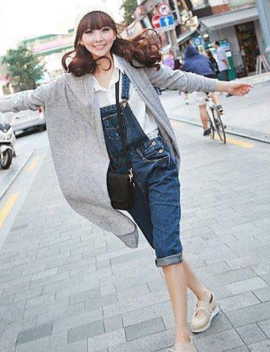 GSP-Pantalon Aux femmes Décontracté Coton / Toile de jean screen color-m