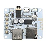 UEB Bluetooth Audio Receiver Module USB TF/SD Card Decoding Board Preamp Output