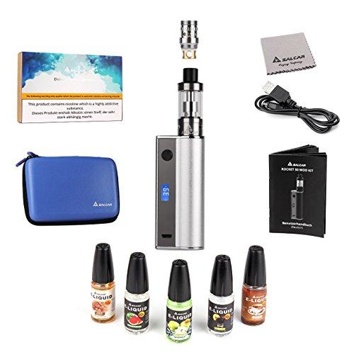 Salcar Rocket 50 Mod Kit de iniciación de Cigarrillo Electrónico 50w,...