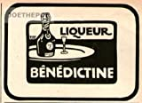 1909 - Anzeige / Inserat : LIQUEUR BENEDICTINE - Format ca. 90x60 mm - alte Werbung / Originalwerbung/ Printwerbung / Anzeigenwerbung
