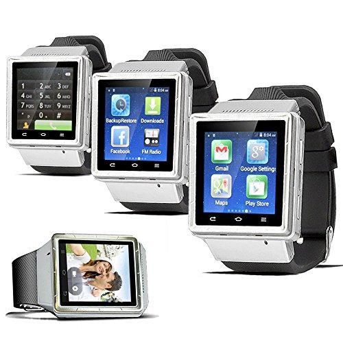 Indigi® entsperrt. Android 4.4Smart Armbanduhr Handy GSM 3G + WIFI GPS Google Play Store Smart Uhren Entsperrtes Smartphone