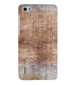 PrintVisa Vintage Canvas Paper Design 3D Hard Polycarbonate Designer Back Case Cover for Huawei Honor 6