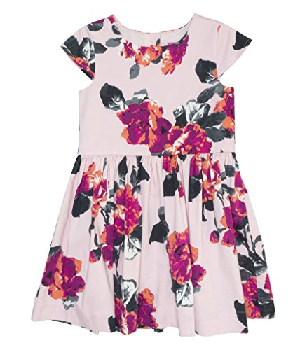 Tom Joule Joules Woven Party Kleid - Rose Pink Floral - 7-8 Years - 128 cm -