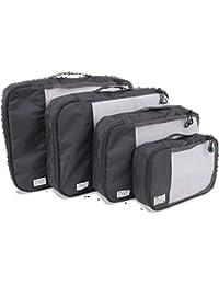 DURAPACK Travel Cubes Black Bag Organizer (PC1BLK)