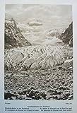 Norwegen: Kjendalsgletscher im Nordfjord / Hardangerfjord - historischer Fotodruck / Kupfertiefdruck - 1931