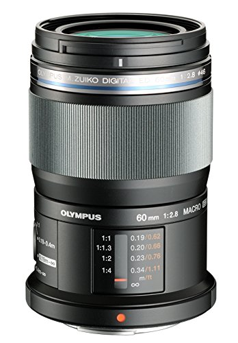 Bargain Olympus M. Zuiko 60 mm f/2.8 MSC ED Macro Digital Lens (Black) on Amazon