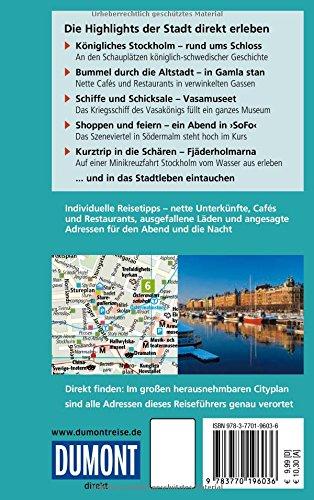 DuMont direkt Reiseführer Stockholm: Alle Infos bei Amazon