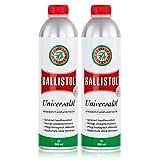 Ballistol Universalöl Flasche 500ml - Rostschutz ohne Verharzen (2er Pack)