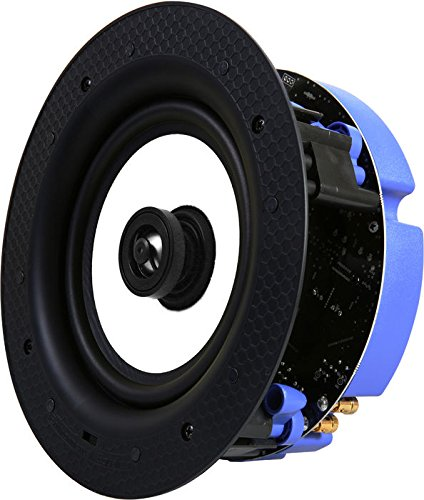 "Wetroom IP44 Rated Wireless Streaming 6.5"" Bluetooth Ceiling Speaker - Lithe Audio (Single Speaker (Master))"
