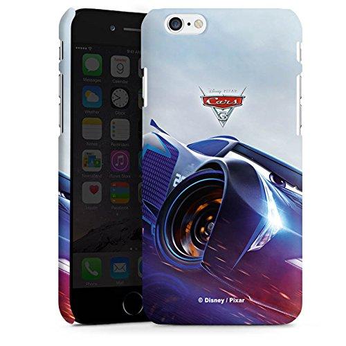 Apple iPhone 8 Silikon Hülle Case Schutzhülle Cars 3 Jackson Storm Disney Cars Premium Case matt