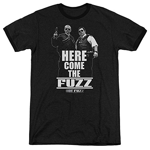 Hot Fuzz Herren T-Shirt Gr. S, - Fuzz-t-shirt Hot