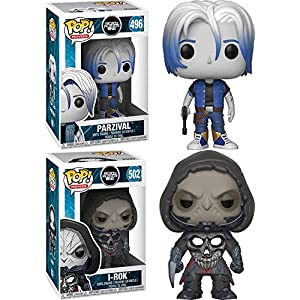 Funko POP Ready Player One Parzival i Rok Stylized Vinyl Figure Bundle Set NEW