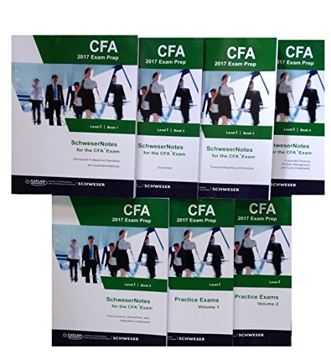 CFA Level 1 - 2017 Study package + 2 practice books (Eligible only with purchase from Way2success)