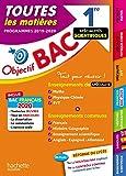 Objectif Bac 1re Enseignements communs + Spécialités Maths-Physique-Chimie-SVT BAC 2020...