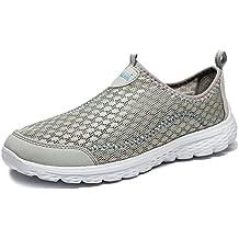 Vibdiv-Zapatos casuales y amortiguadores de hombres