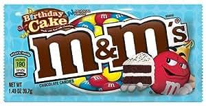 New Birthday Cake M&M's 39.7g - American Candy m&ms