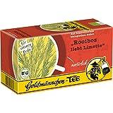 Goldmännchen Thé Rooibos Bio, Rooibos Aime la Citronnelle, Thé aux Plantes, 20 Sachets Emballés Individuellement