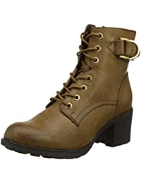Zarupeng Los Hombres del Tobillo Bajo Recortar el Tobillo Plano Botas de Otoño Invierno Casual Martin Shoes (42, Negro)