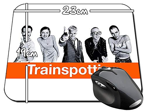 Trainspotting Ewan McGregor Jonny Lee Miller Mauspad Mousepad PC