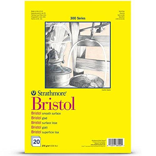 Strathmore Bristol série 300, caractères et de Bloc de papier aquarelle, 270g/m², DIN A3, 20feuilles