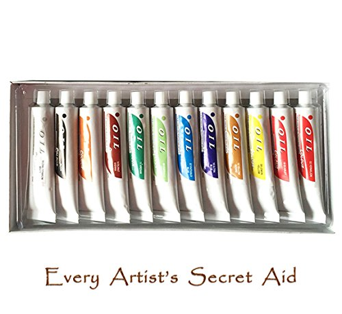 daveliou-oil-paint-set-12-non-toxic-oil-paints-32ml-vivid-colours