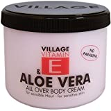 Pueblo - Crema Hidratante corporal con aloe vera y vitamina E - 500ml