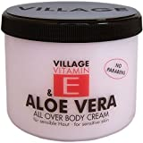 Produkt-Bild: Village 9506-01 Aloe Vera Body Cream 500ml mit Vitamin E