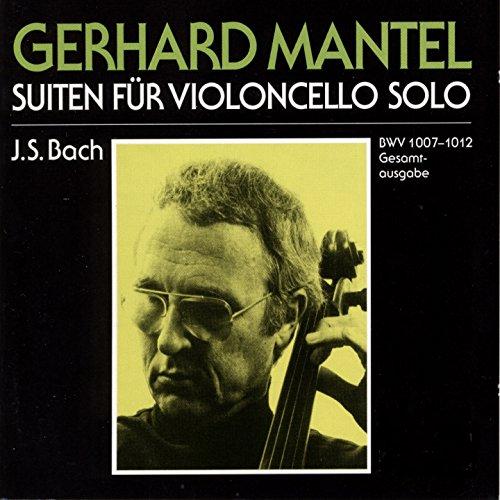 6 Cello Suites, No. 6 in D Major, BWV 1012: IV. Sarabande (Alternate Version by Gerhard Mantel)