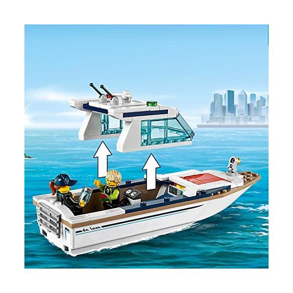 LEGO City - Yacht per immersioni, 60221 4 spesavip