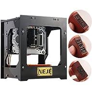 1000mW NEJE USB Laser GRAVIERMASCHINE Cutter Engraving Cutting Logo Siegel Marke DK-8-KZ